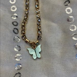 SHEIN | butterfly necklace